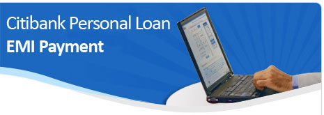 Citibank Personal Loan EMI Payment